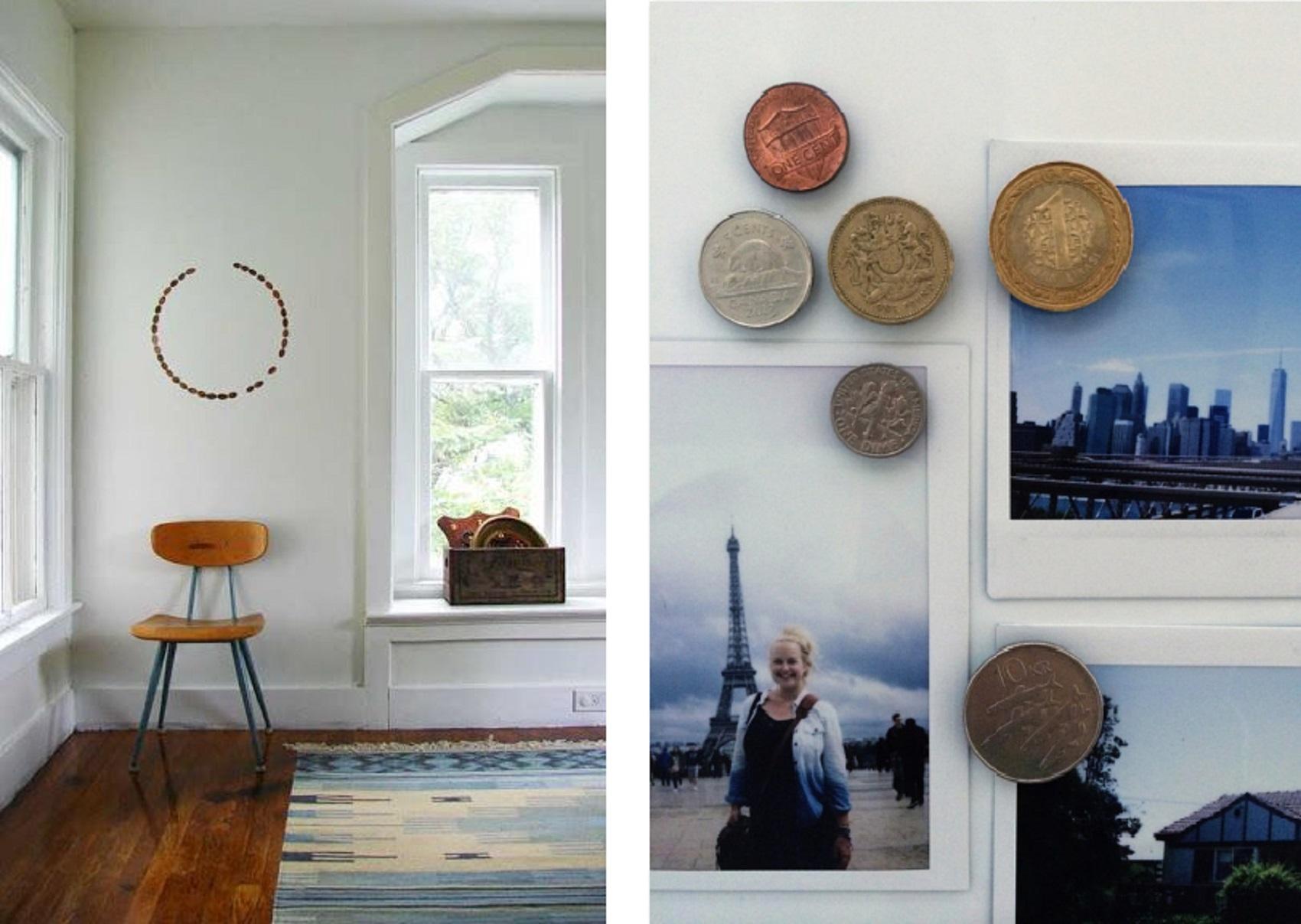 interior design hacks coins