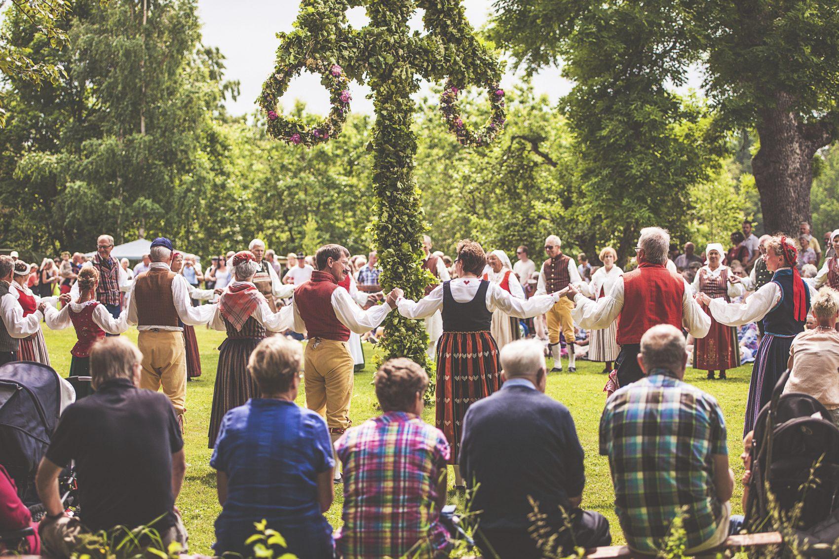 Swedish midsummer solstice