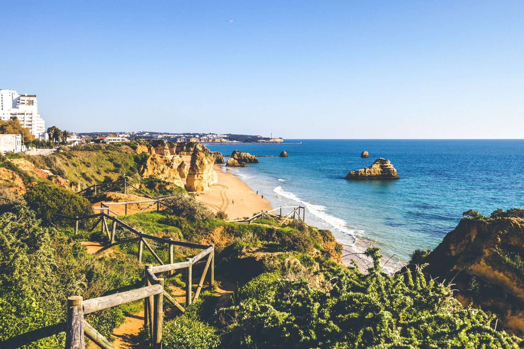 Algarve beaches, Portugal