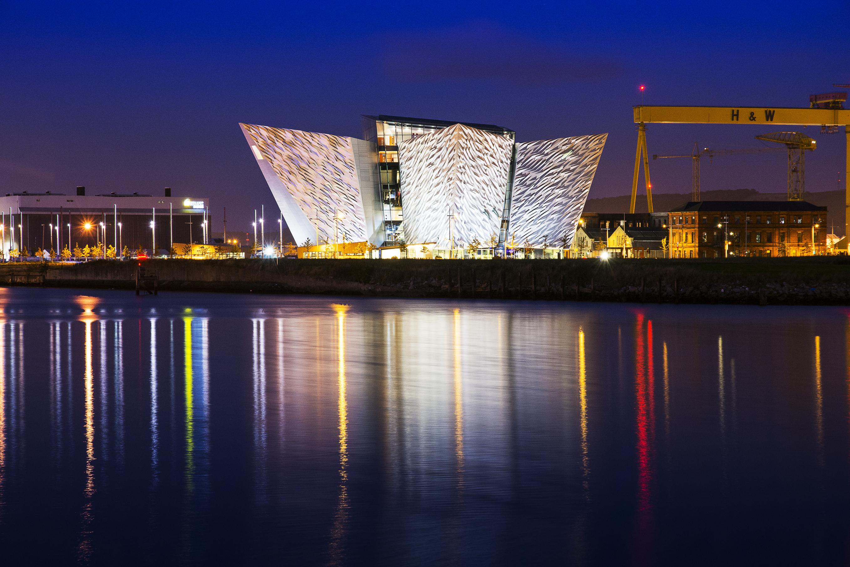 Belfast city Northern Ireland