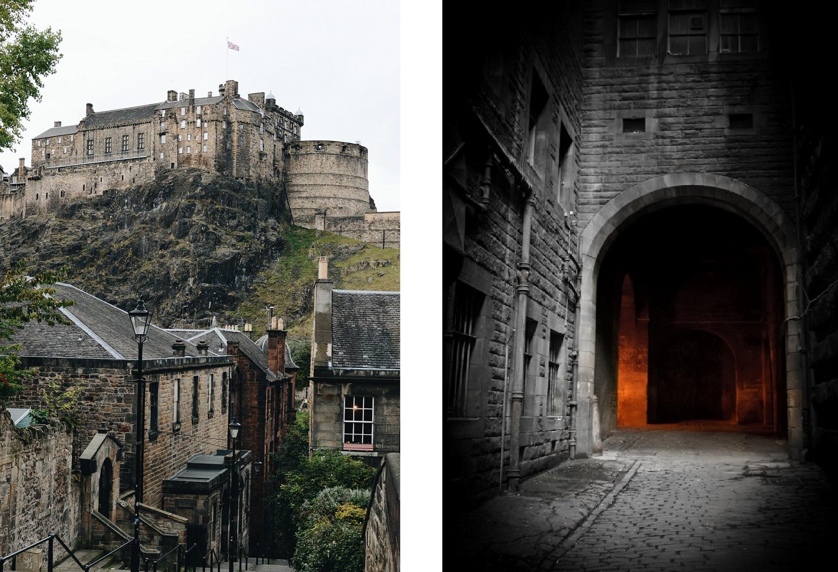 Edinburgh Vaults halloween