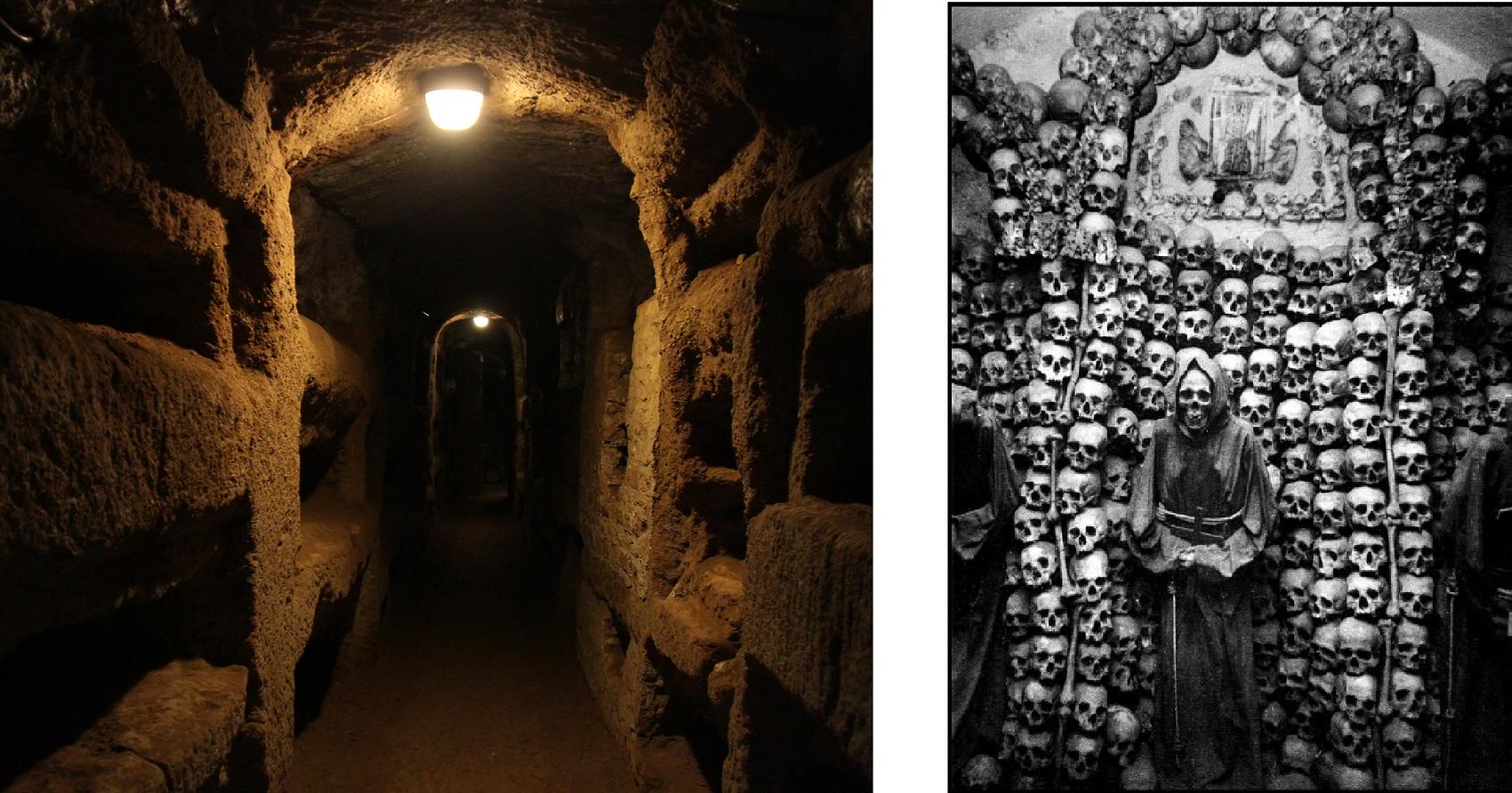 Rome's catacombs Halloween tour