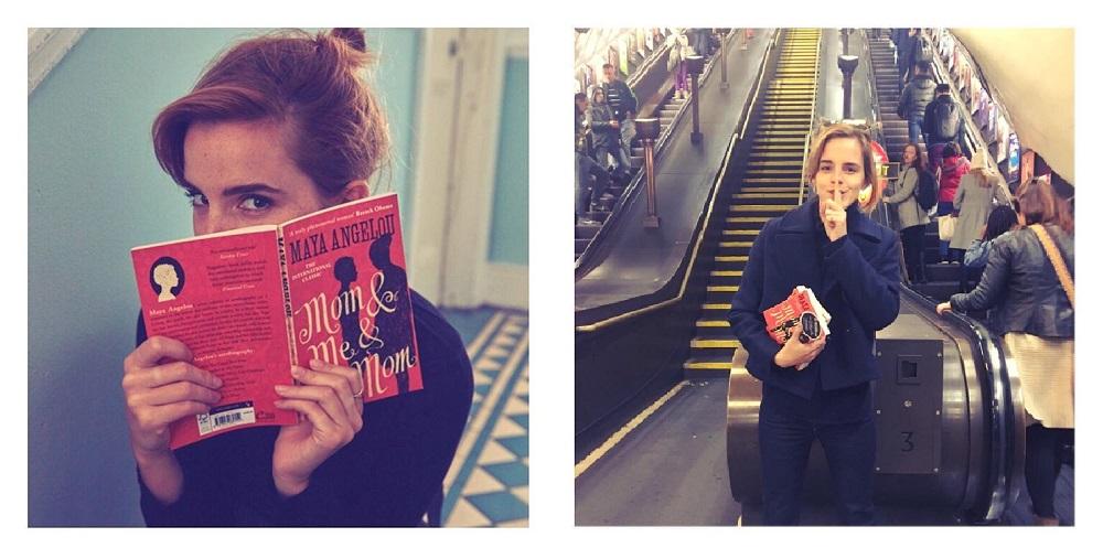 Emma-Watson-Books-London-Underground