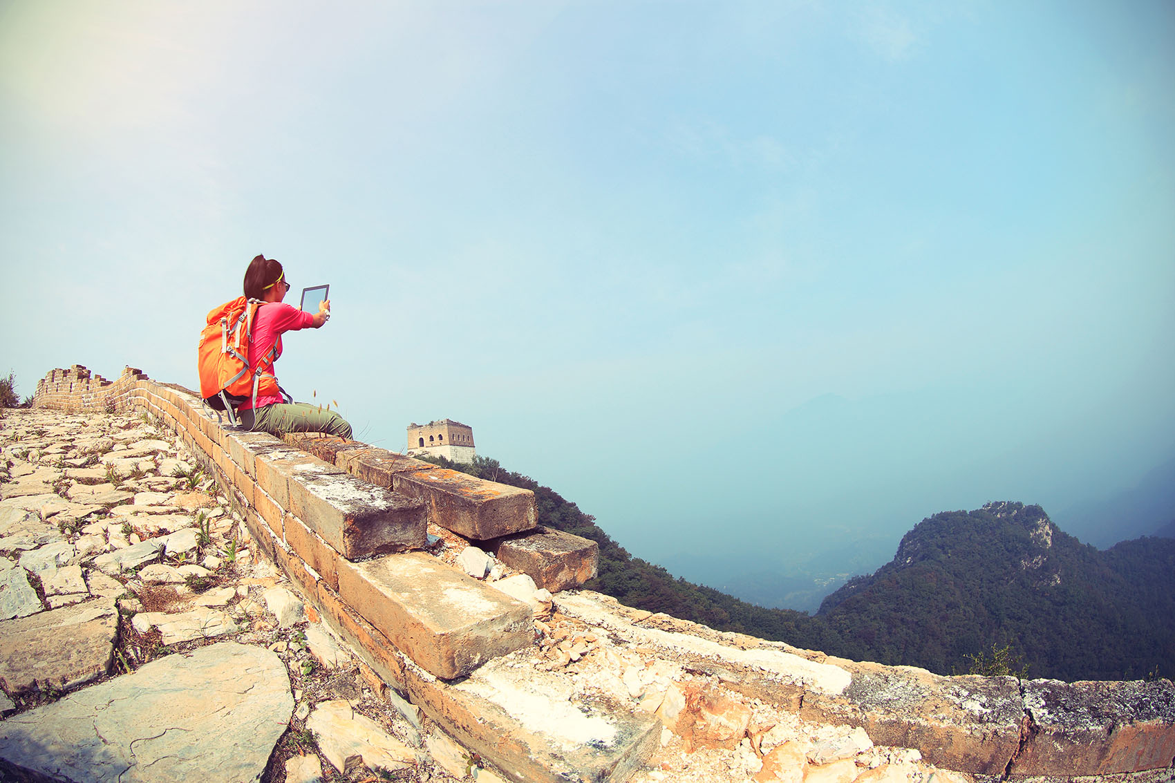 selfie-at-the-great-wall-of-china