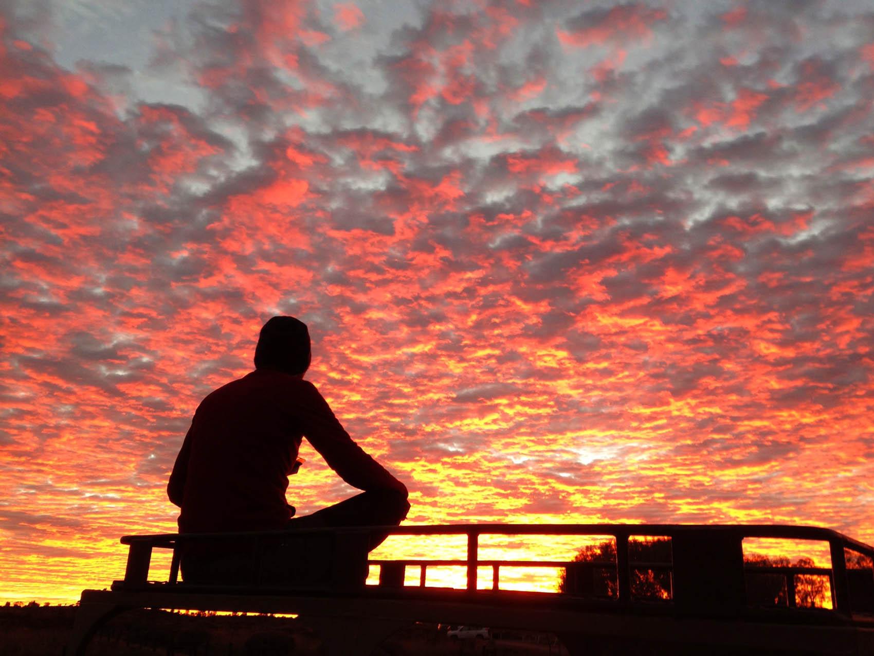 sunset-Uluru-Australia