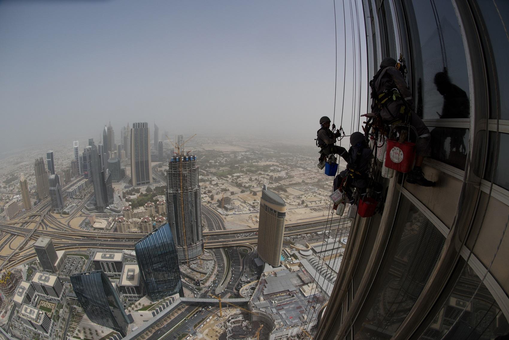 Fensterputzen-am-Burj-Khalifa-1