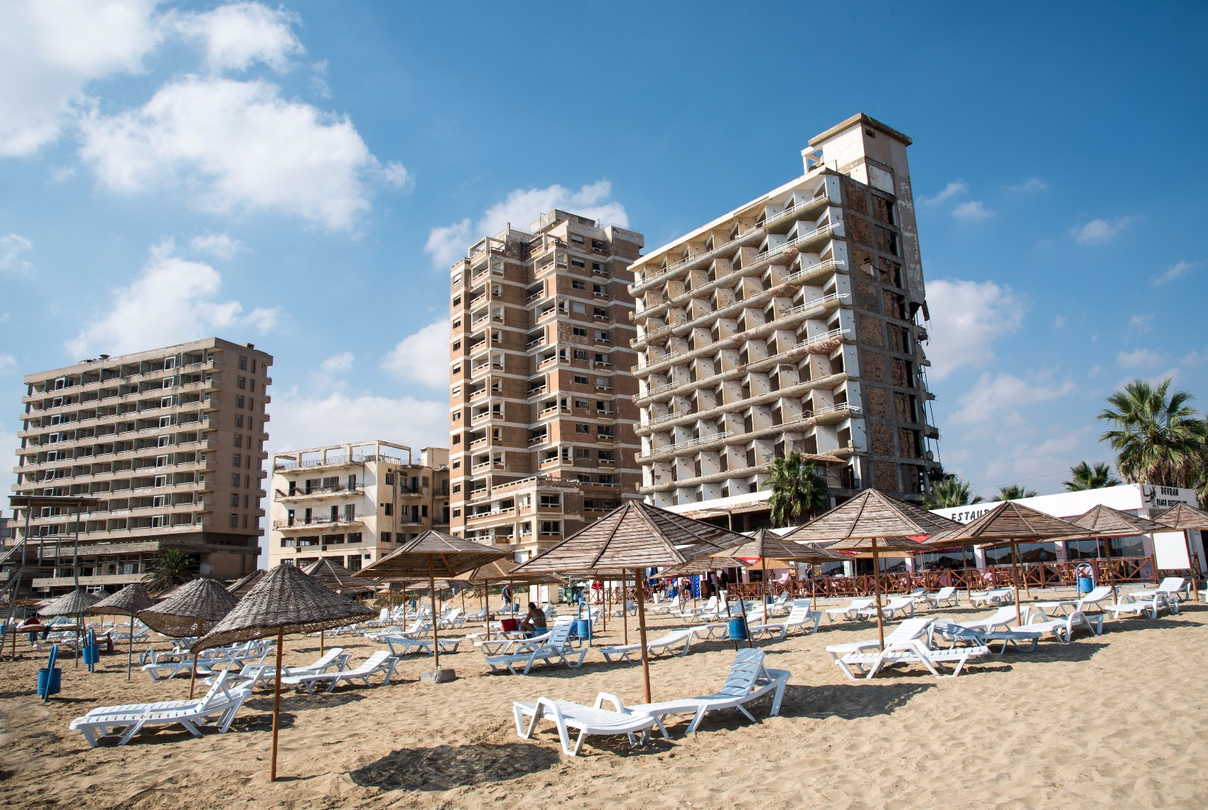 Famagusta Ghost Tour Beach