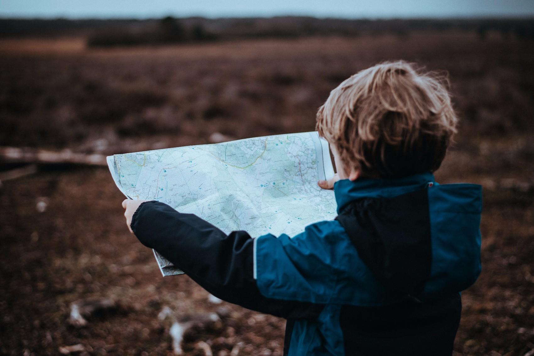 kids navigating learning travelling engaged