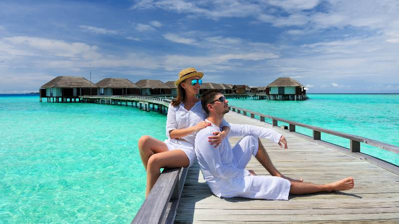 romantic maldives