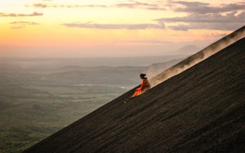 volcano boarding unusual travel experiences