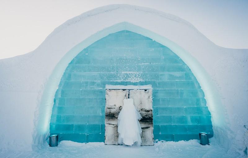 Ice Hotel travel destination wedding