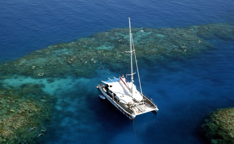 great barrier reef passions of paradise boat
