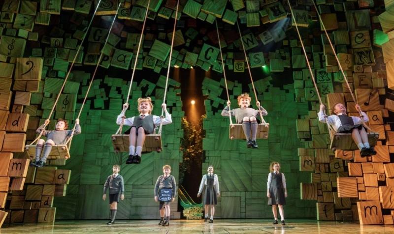 Matilda London show