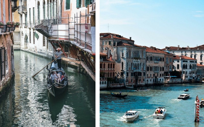 Venice travel experiences canal facts