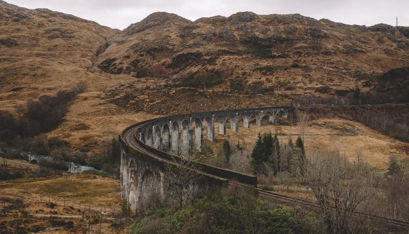 harry potter bridge scottish highlands