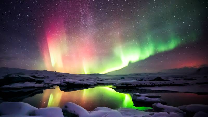 Stargazing-Iceland