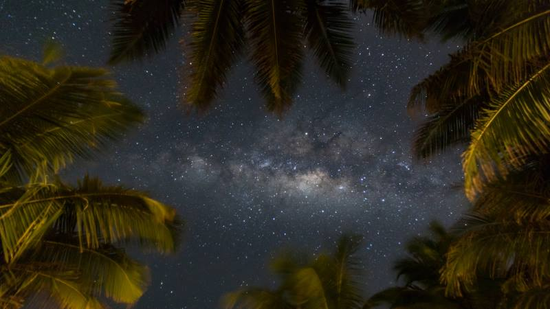 Stargazing-Maldives