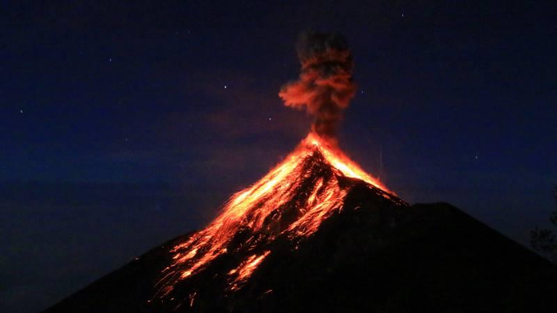 Stargazing-volcano