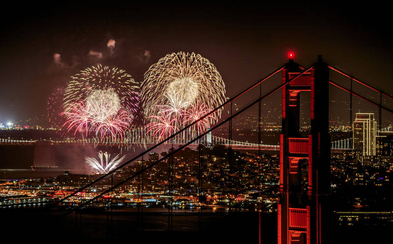 top-best places to watch fireworks on the 4th of july-san-francisco