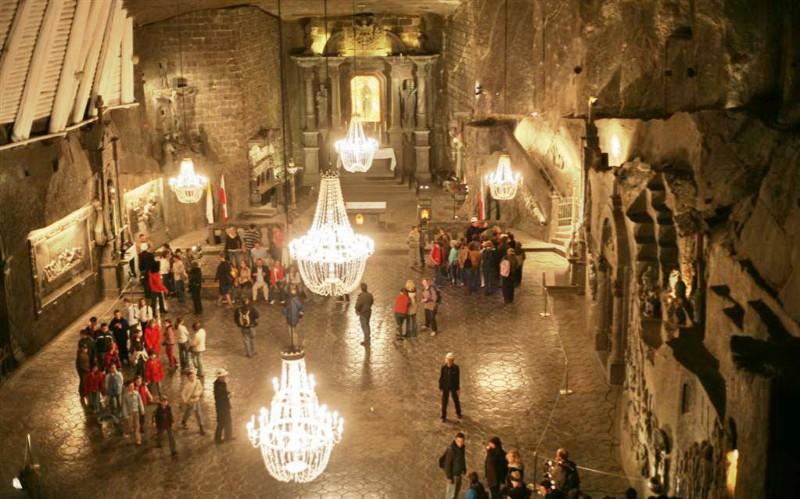 Minas de sal Wieliczka para hospedarse en Polonia