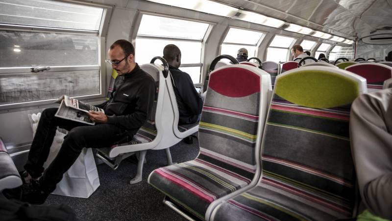 Paris-R.E.R-train