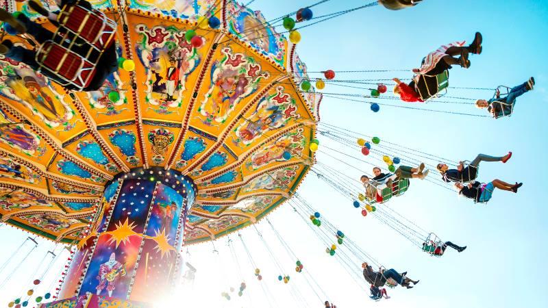 Munich-Oktoberfest-Funfair