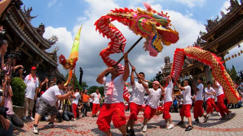 Taiwan-parades