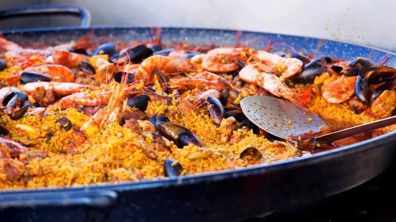 Valencia-paella