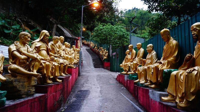 Hong Kong Ten thousand buddhas