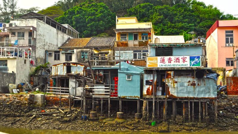 Hong Kong Tai-o Fishing Village