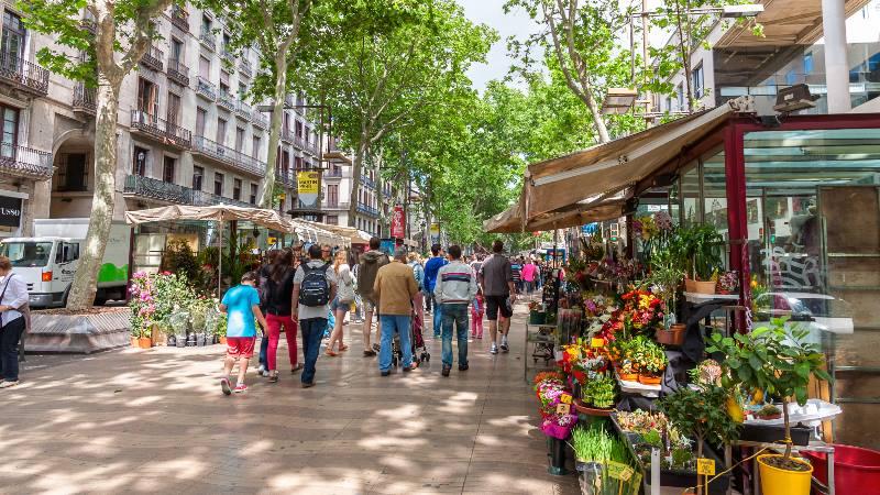 Barcelona-La-Ramblas