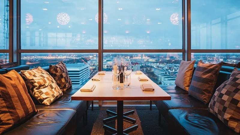 Stockholm HIMLEN restaurant