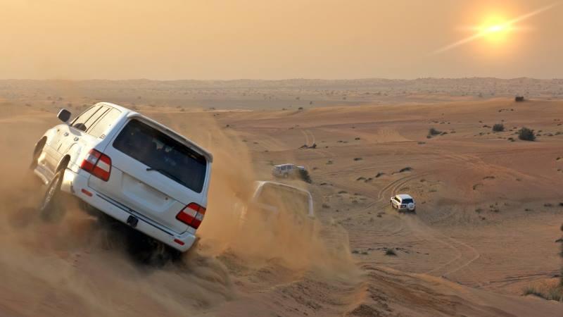 What to do in Dubai-desert-safari