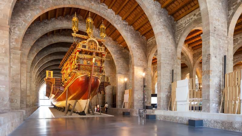 Museums-Barcelona-Maritime