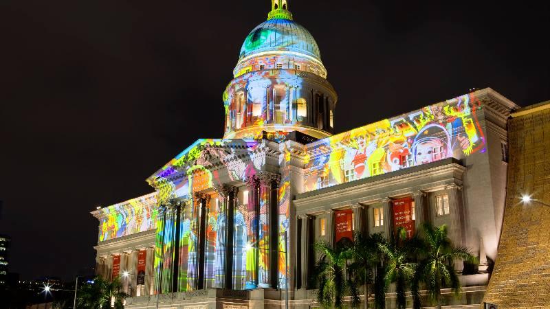 Orte-Singapur-Nationalgalerie