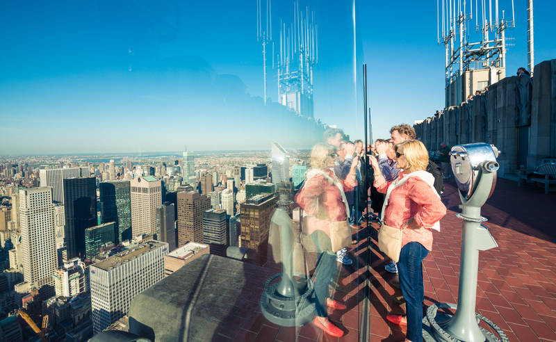 top-best views in new york-top-rock