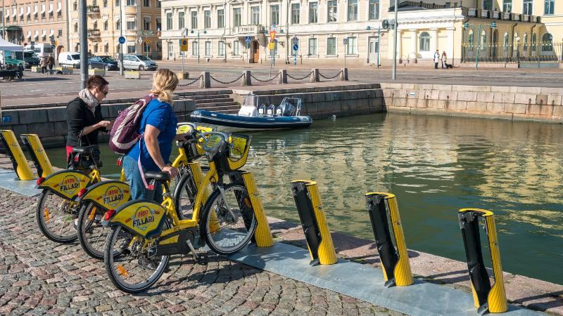 Yellow-City-Bikes