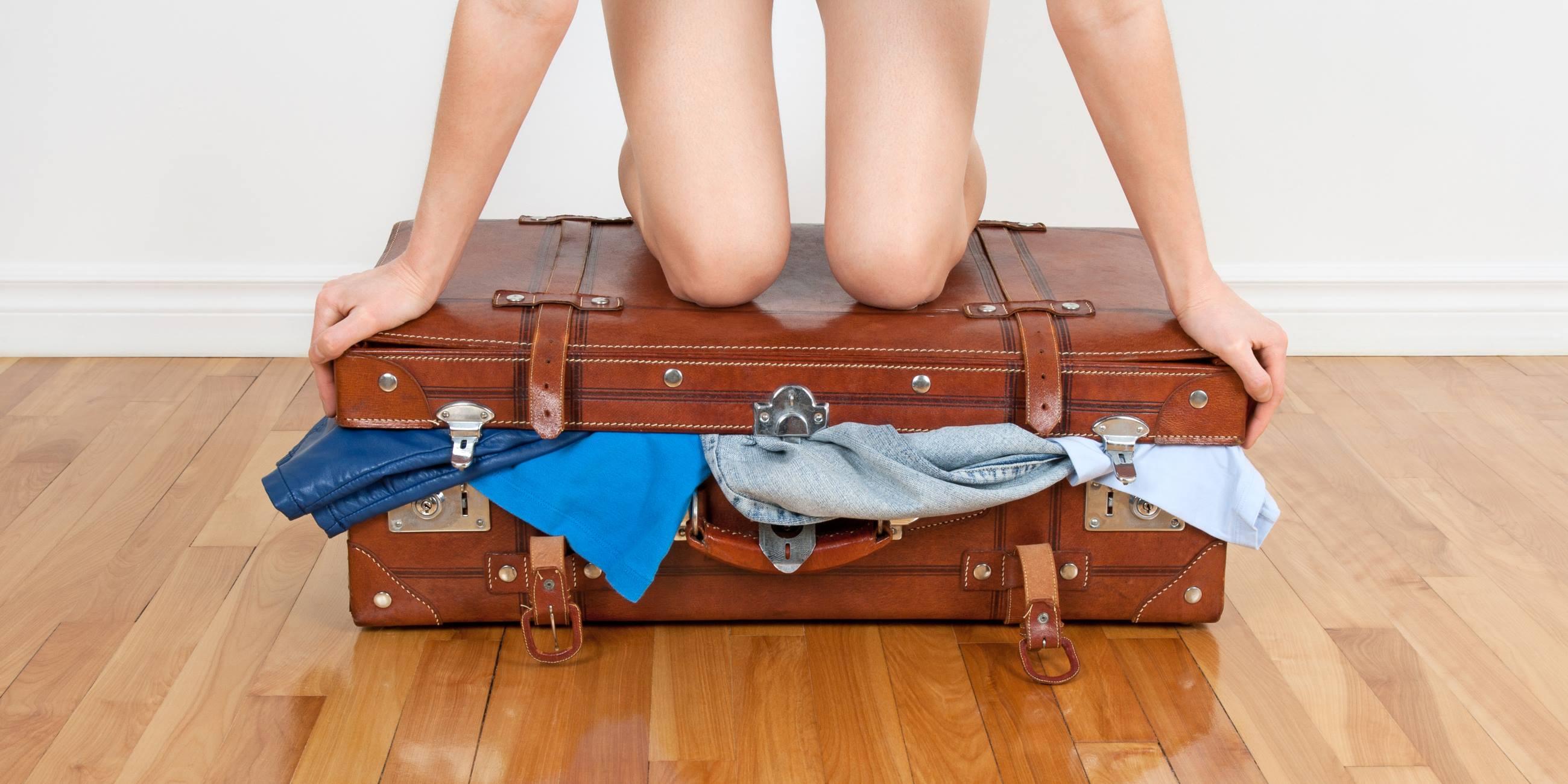 ¿Es posible viajar con solamente una maleta?