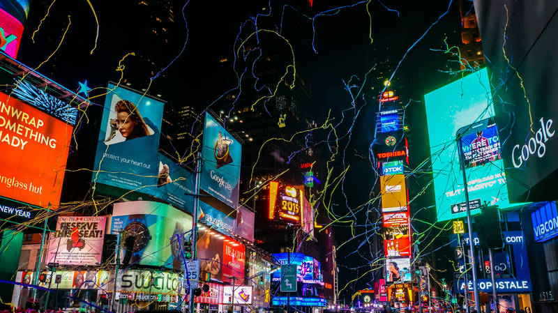 best-winter events in new york-ball-drop