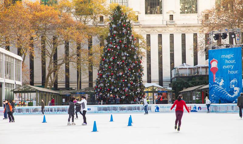 best-winter events in new york-winter village-bryant park