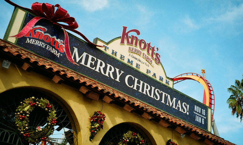 top-winter events in los angeles-knott's-merry-farm