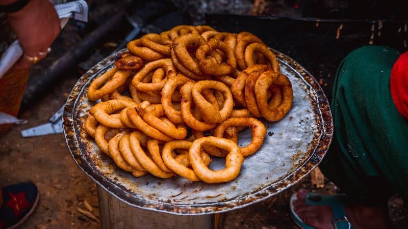 A-plate-of-Kathmandu-food-momos