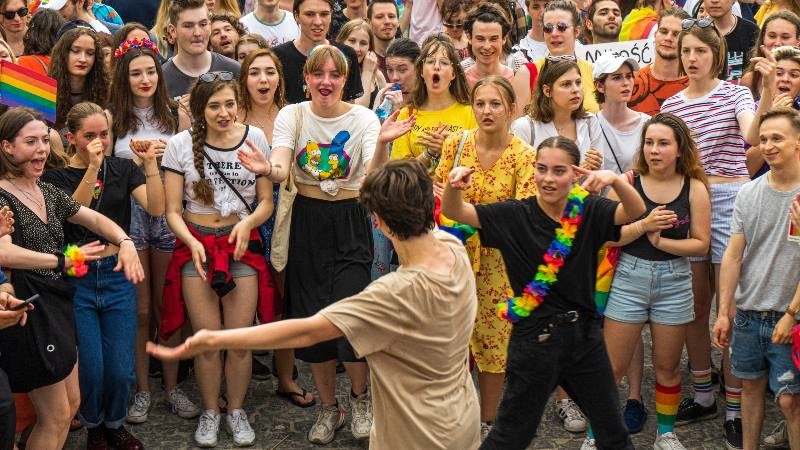 People-dancing-at-a-pride-celebration-in-Warsaw