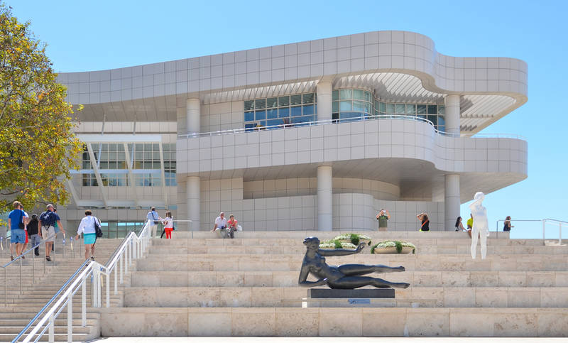 touring los angeles on a budget-getty-museum