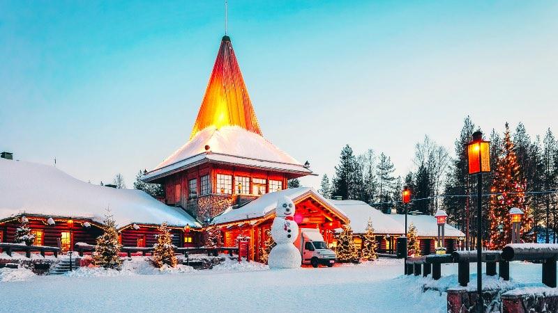 Rovaniemi in the north of Finland