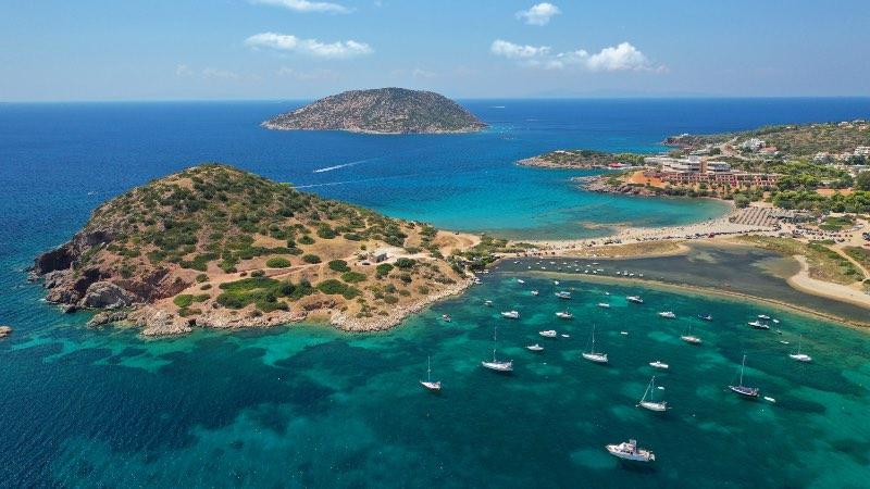 Island's near Athens