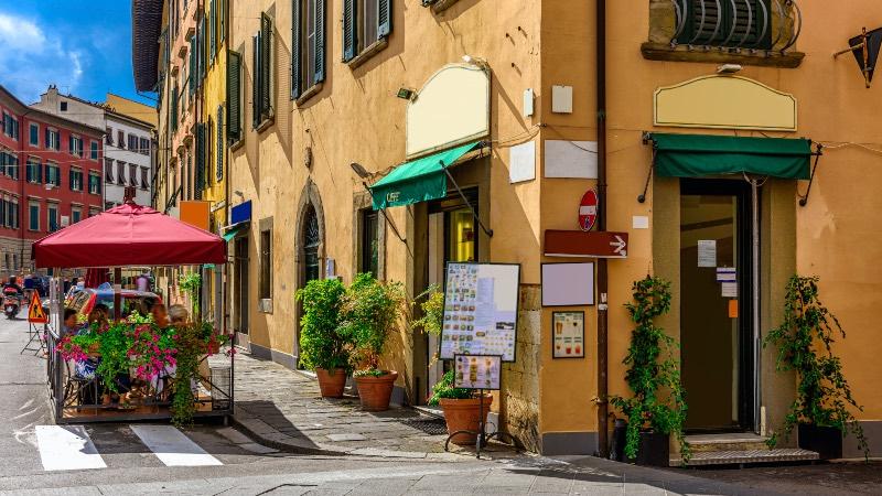 Streets in Pisa