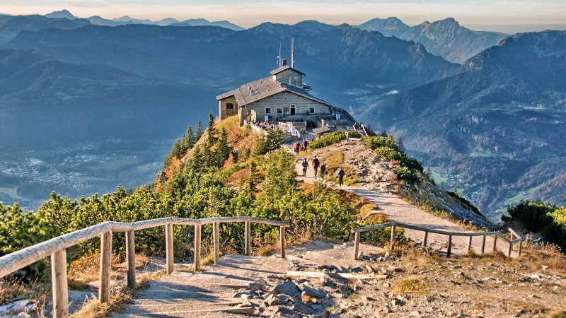 The birds nest in the Bavarian Alps - best things to do in Salzburg