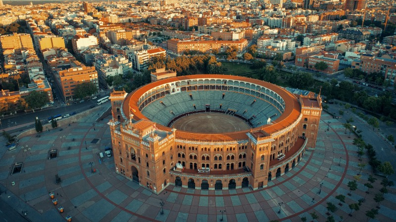 Las Ventas Bullring in Madrid