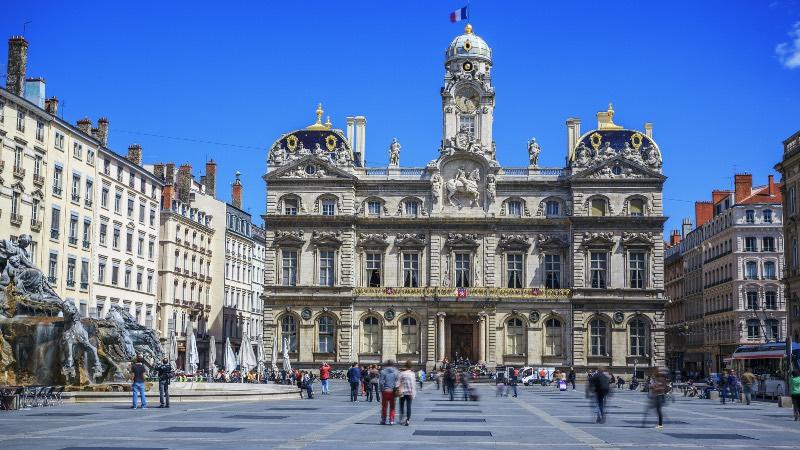 Square in Lyon